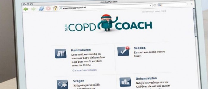 mijnCOPDcoach: zelfmanagement via online coaching